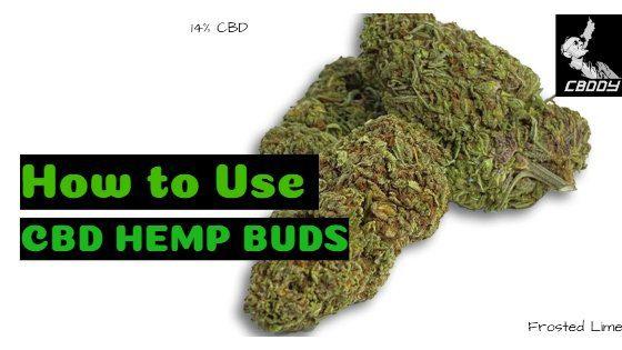 How to Use CBD Hemp Buds 1