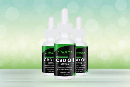 CBDDY CBD oil 2500mg | Buy 2,500mg CBD Oil Online | CBD oil price