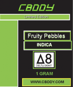Delta 8 vape carts fruity pebbles 1g
