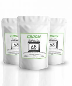 Delta 8 Hard Candy | 10 Pieces In a Pack | CBDDY.COM