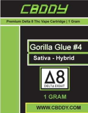 Gorilla Glue Δ8thc vape cart