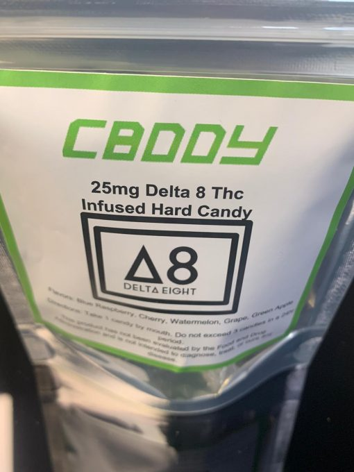 Delta 8 hard candies