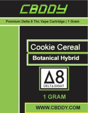Δ 8 thc vape cart cookies cereal